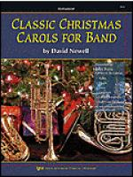 Classic Christmas Carols For Band-Drums/Timpani/Auxiliary Percussion Sheet Music