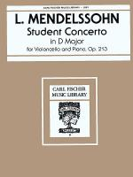 Student Concerto in D Major, Op. 213 Sheet Music