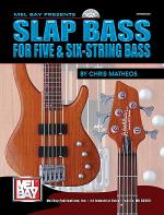 Slap Bass For Five and Six-String Bass Book/CD Set Sheet Music