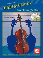 Fiddle Tunes for Two Cellos Book/CD Set Sheet Music