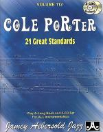 Volume 112 - Cole Porter - 21 Great American Standards Sheet Music