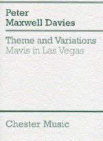 Theme And Variations (Mavis In Las Vegas) (MIniature Score) Sheet Music