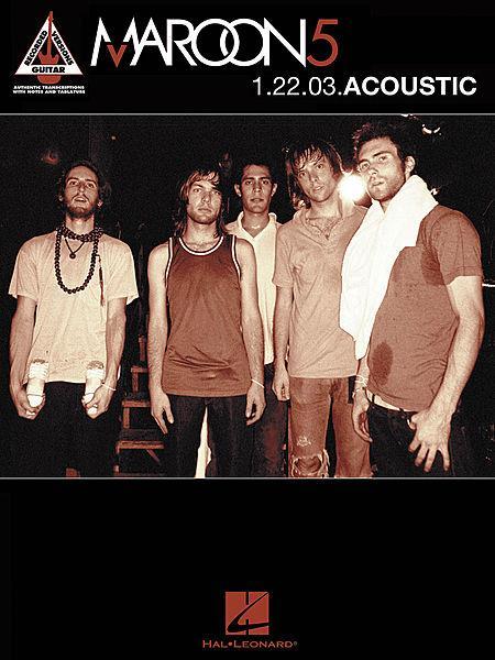 Maroon 5 - 1.22.03 Acoustic Sheet Music