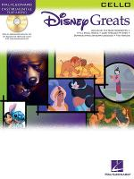 Disney Greats - Cello (Book/CD Package) Sheet Music