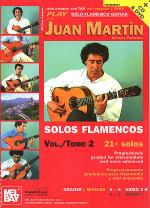 Play Solo Flamenco Guitar with Juan Martin Book/CD/DVD Set Sheet Music