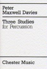 Three Studies For Percussion (Score) Sheet Music