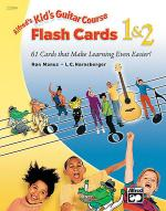 Alfred's Kid's Guitar Course 1 & 2: Flash Cards Sheet Music