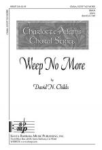 Weep No More Sheet Music