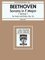 Sonata in F Major, Op. 24 Sheet Music