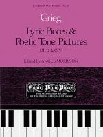 Lyric Pieces Op.12; Poetic Tone-Pictures Op.3 Sheet Music