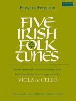 Five Irish Folk Tunes, for viola or cello with piano accompaniment Sheet Music