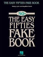 The Easy Fifties Fake Book Sheet Music