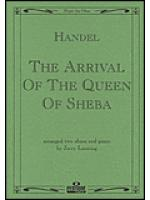 Arrival Of The Queen Of Sheba Piano Solo Sheet Music