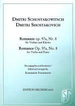 Romance Op. 97a, No. 8 Sheet Music