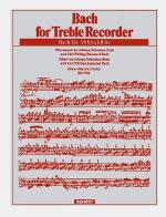 Bach for Alto Recorder Sheet Music