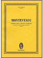 Vespro della Beata Vergine Sheet Music