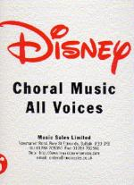 Disney Choral Binder Volume 2 Sheet Music