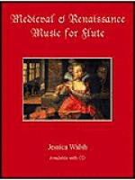 Medieval & Renaissance Music for Flute Sheet Music