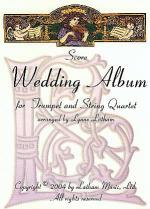 Wedding Album for Trumpet and String Quartet Sheet Music