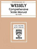 Comprehensive Scale Manual Sheet Music