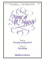 Name of All Majesty Sheet Music
