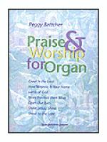Praise & Worship for Organ Sheet Music