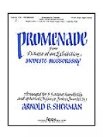 Promenade From Pictures at an Exhibition Sheet Music