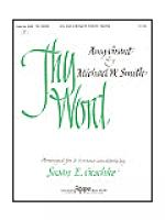 Thy Word Sheet Music