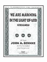 We Are Marching in the Light of God Sheet Music