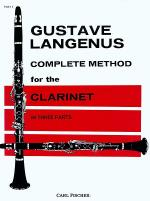 Complete Method for the Clarinet-Pt. 1 Sheet Music