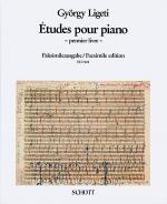 Études for Piano, Volume 1 Sheet Music