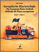 The European Piano Method w/CD - Volume 1 Sheet Music