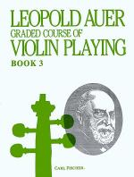 Graded Course of Violin Playing-Bk. 3-Elementary Sheet Music