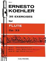 35 Exercises for Flute, Op. 33 - Book II Sheet Music