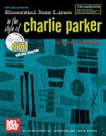 Essential Jazz Lines in the Style of Charlie Parker, Trombone Edition Book/CD Set Sheet Music