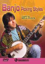 Béla Fleck Teaches Banjo Picking Styles Sheet Music