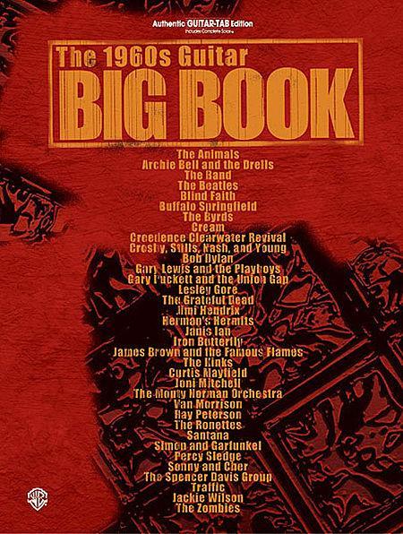 The 1960s Guitar Big Book Sheet Music