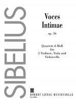 String Quartet in D Minor Op.56 Voces intimae Sheet Music