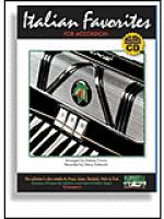 Italian Favorites for Accordion with CD Sheet Music