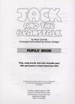 Jack And The Beanstalk (Cassette) Sheet Music
