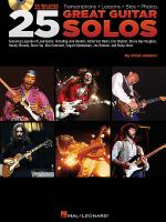 25 Great Guitar Solos Sheet Music