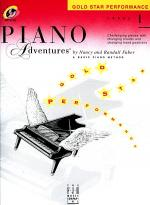 Piano Adventures Level 1 - Gold Star Performance with CD Sheet Music