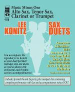 Lee Konitz Sax Duets Sheet Music
