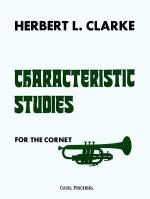 Characteristic Studies for Cornet Sheet Music