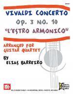 Vivaldi Concerto Op. 3 No. 10 - L'estro Armonico Sheet Music