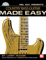 Country Bass Guitar Made Easy Book/CD Set Sheet Music