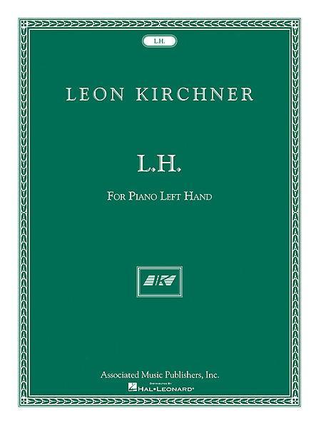 L.H. for Leon Fleisher Sheet Music