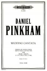 Wedding Cantata Sheet Music