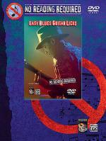 No Reading Required - Easy Blues Guitar Licks (DVD) Sheet Music
