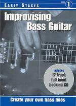 RGT - Improvising Bass Guitar - Early Stages Book/CD Set Sheet Music